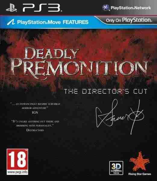 Descargar Deadly Premonition The Directors Cut [MULTI][Region Free][FW 4.3x][STRiKE] por Torrent